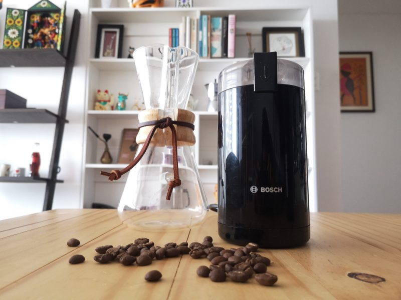 Probamos el molinillo Bosch, uno de los más populares para usar en casa