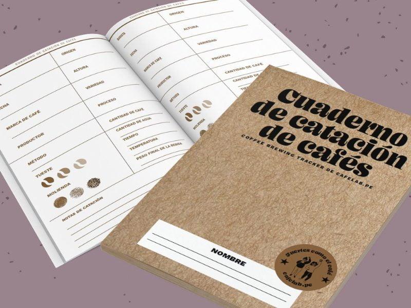 Ya en venta de nuestro cuaderno de catación de cafés