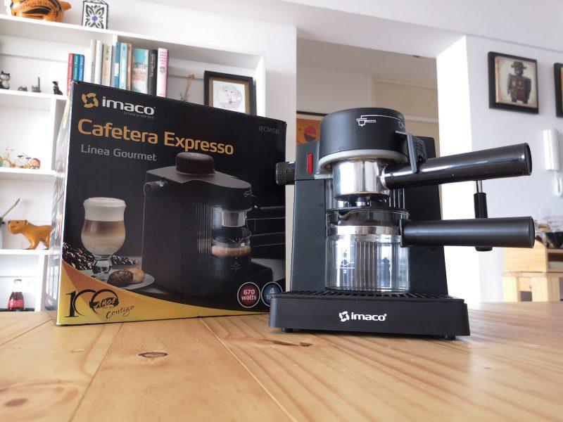 Probamos la cafetera Imaco Línea Gourmet para hacer espressos en casa