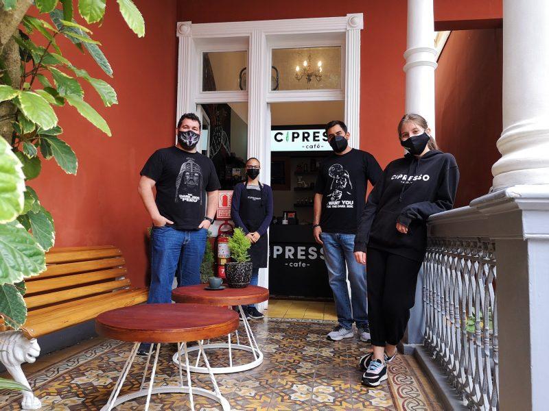 Cipresso Café, la barra cafetera de la nueva normalidad