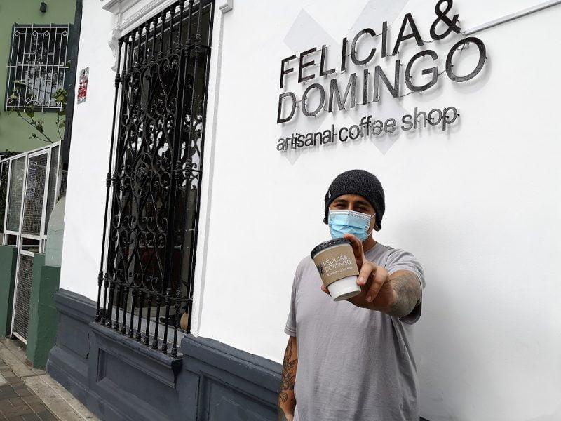 Felicia & Domingo, artisanal coffee shop en Barranco
