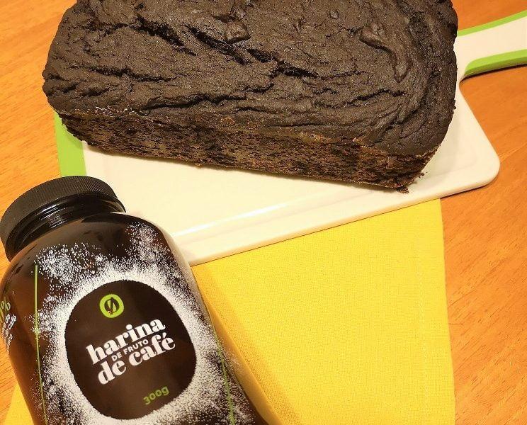Receta: queque con harina del fruto de café de Resto-Zero