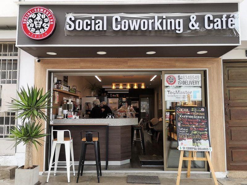 Social Coworking & Café, una opción para escapar del teletrabajo