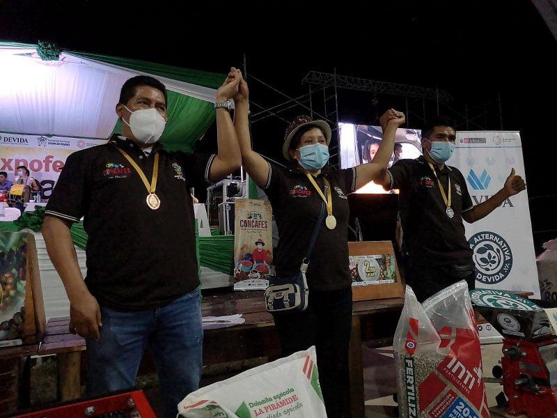 Clomalda Salvador gana concurso de cafés de especialidad en Huánuco
