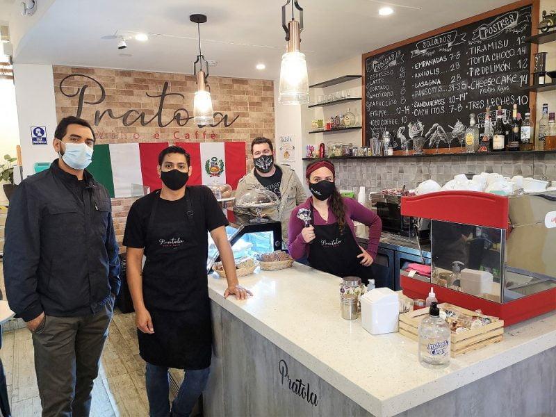 Pratola Vino e Caffè, un rincón cafetero de inspiración italiana