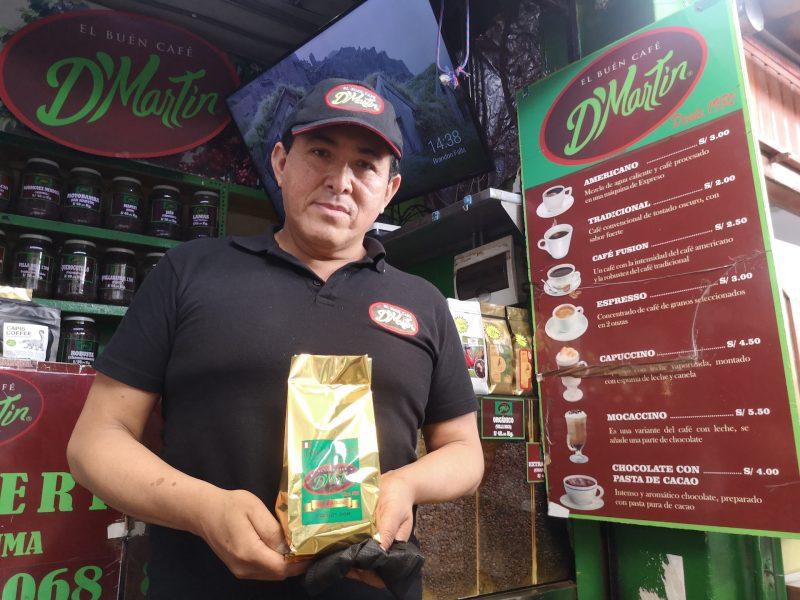 El buen café D'Martín, orgullo y tradición en el mercado de Magdalena