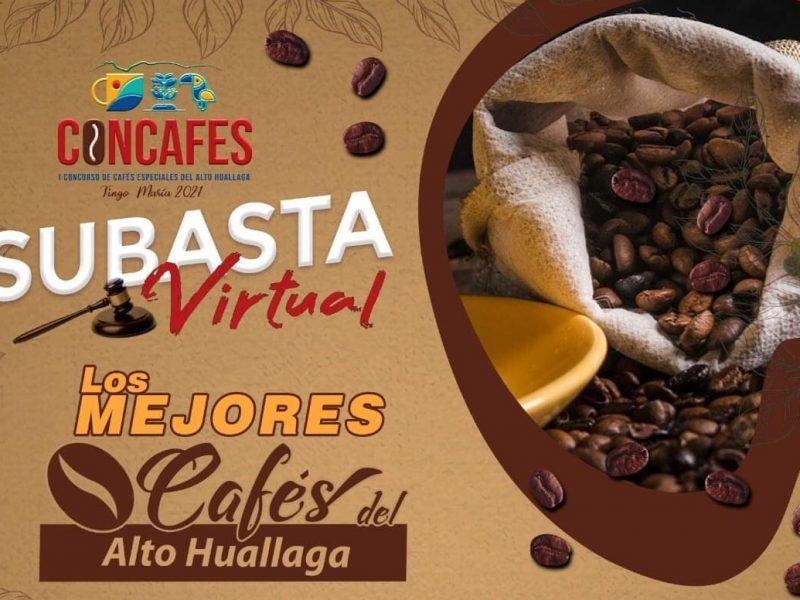 Este viernes 17 se realiza la subasta virtual de los mejores cafés de Huánuco